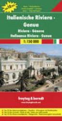 Italienische Riviera, Genua | autokaart, wegenkaart 1:150.000 9783707901764  Freytag & Berndt Italië Wegenkaarten  Landkaarten en wegenkaarten Genua, Ligurië