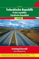 Superatlas Tschechische Republik 1:150.000 9783707902747  Freytag & Berndt Wegenatlassen  Wegenatlassen Tsjechië