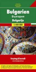 Bulgarien | autokaart, wegenkaart 1:400.000 9783707903225  Freytag & Berndt   Landkaarten en wegenkaarten Bulgarije