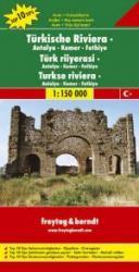Turkse Riviera: Kemer | autokaart, wegenkaart 1:150.000 9783707903300  Freytag & Berndt   Landkaarten en wegenkaarten Turkse Riviera, overig Turkije