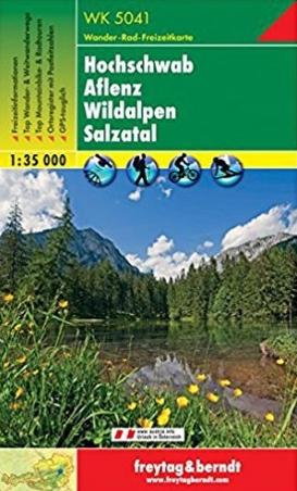 WK-5041 Hochschwab, Aflenz, Wildalpen 9783707904932  Freytag & Berndt WK 1:35.000  Wandelkaarten Wenen, Noord- en Oost-Oostenrijk