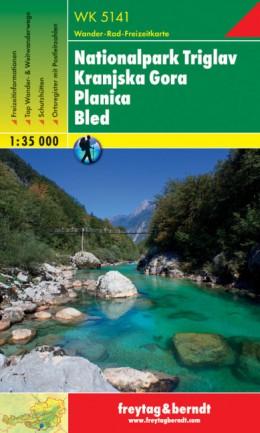 WK-5141 Nationalpark Triglav | wandelkaart 1:35.000 9783707904949  Freytag & Berndt WK 1:35.000  Wandelkaarten Slovenië