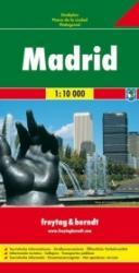 Madrid 1:9.500 | stadsplattegrond 9783707906141  Freytag & Berndt   Stadsplattegronden Madrid & Midden-Spanje