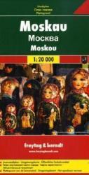 Moskou 1:20.000 | stadsplattegrond 9783707906158  Freytag & Berndt   Stadsplattegronden Europees Rusland