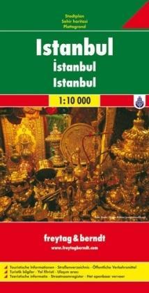 Istanbul 1:10.000 | stadsplattegrond 9783707906424  Freytag & Berndt   Stadsplattegronden Europees Turkije met Istanbul