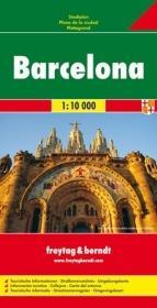 Barcelona (stadsplattegrond 1:10.000) 9783707907100  Freytag & Berndt   Stadsplattegronden Barcelona