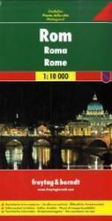 Rome 1:10.000 / 15.000 | stadsplattegrond 9783707907186  Freytag & Berndt   Stadsplattegronden Rome, Lazio
