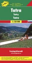 Tatra | autokaart, wegenkaart 1:150.000 9783707907674  Freytag & Berndt   Landkaarten en wegenkaarten Slowakije