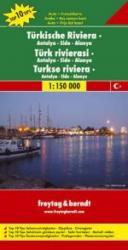 Turkse Riviera: Side | autokaart, wegenkaart 1:150.000 9783707907698  Freytag & Berndt   Landkaarten en wegenkaarten Turkse Riviera, overig Turkije