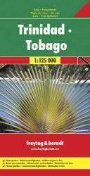 Trinidad + Tobago | autokaart, wegenkaart 1:125.000 9783707907742  Freytag & Berndt   Landkaarten en wegenkaarten Overig Caribisch gebied