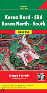Korea (North + South) | autokaart, wegenkaart 1:900.000 9783707914184  Freytag & Berndt   Landkaarten en wegenkaarten Noord-Korea, Zuid-Korea