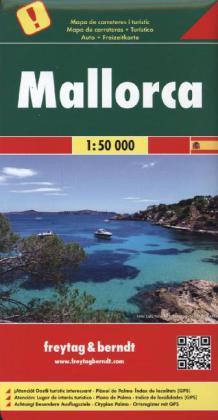 Mallorca 1:50.000 9783707914269  Freytag & Berndt   Wandelkaarten Mallorca