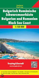 Zwarte Zeekust | autokaart, wegenkaart 1:150.000 9783707914481  Freytag & Berndt   Landkaarten en wegenkaarten Bulgarije