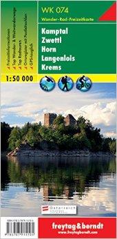 WK-074 Kamptal - Zwettl - Horn - Langenlois - Krems 9783707915105  Freytag & Berndt WK 1:50.000  Wandelkaarten Wenen, Noord- en Oost-Oostenrijk