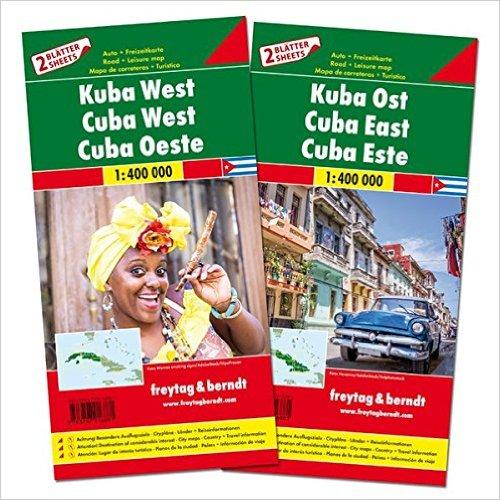 Cuba | autokaart, wegenkaart 1:400.000 9783707916881  Freytag & Berndt   Landkaarten en wegenkaarten Cuba