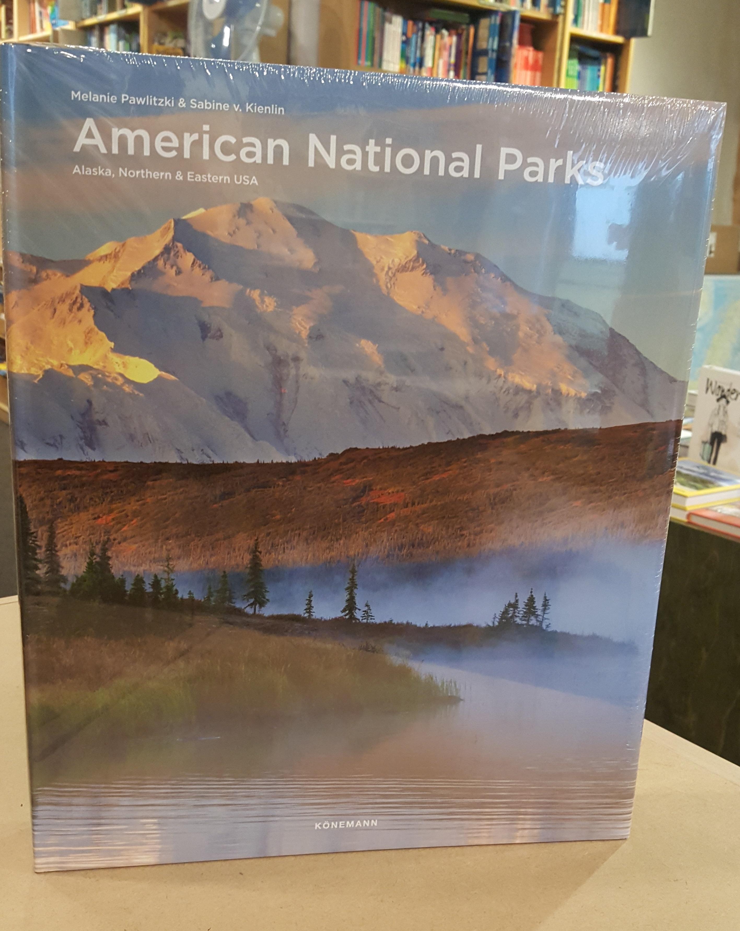 American National Parks | fotoboek 9783741923111  Könemann   Fotoboeken, Natuurgidsen Verenigde Staten