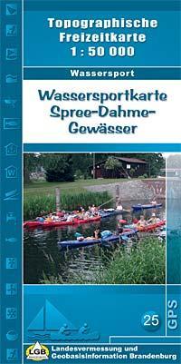 Wassersportkarte Spree-Dahme-Gewässer (SK nr.8) 9783749040490  LVA Brandenburg   Watersportboeken Brandenburg & Sachsen-Anhalt