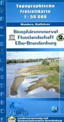 Flusslandschaft Elbe-Brandenburg 1:50.000 9783749041541  LVA Brandenburg   Wandelkaarten Brandenburg & Sachsen-Anhalt