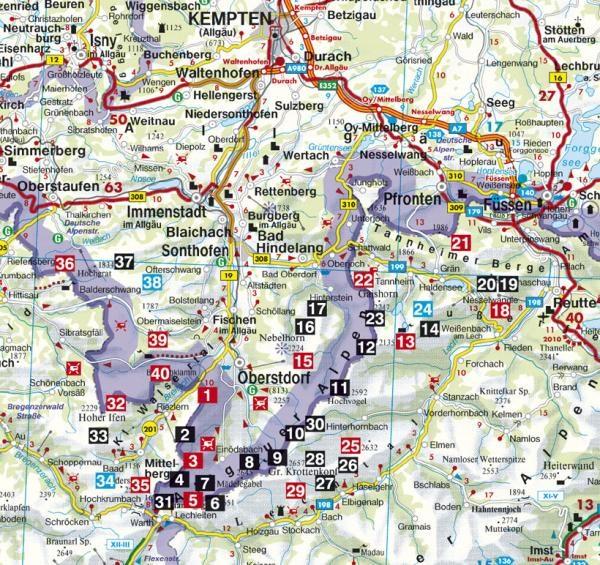 Allgäuer Alpen Klettersteige, Höhenwege | Rother Wanderführer 9783763331208  Bergverlag Rother RWG  Meerdaagse wandelroutes, Wandelgidsen Beierse Alpen
