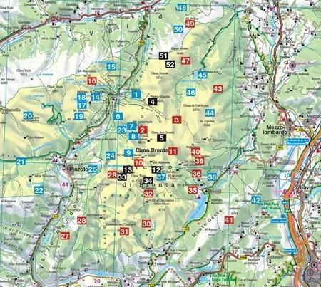 Rother wandelgids Brenta | Rother Wanderführer 9783763341818  Bergverlag Rother RWG  Wandelgidsen Zuid-Tirol, Dolomieten