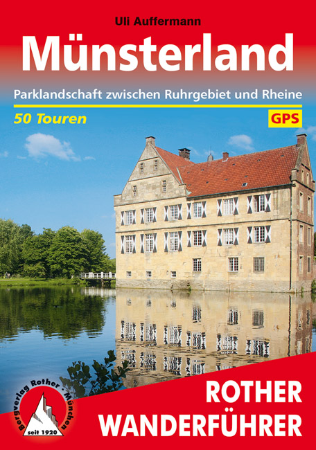 Münsterland | Rother Wanderführer 9783763343805  Bergverlag Rother RWG  Wandelgidsen Münsterland, Bentheim