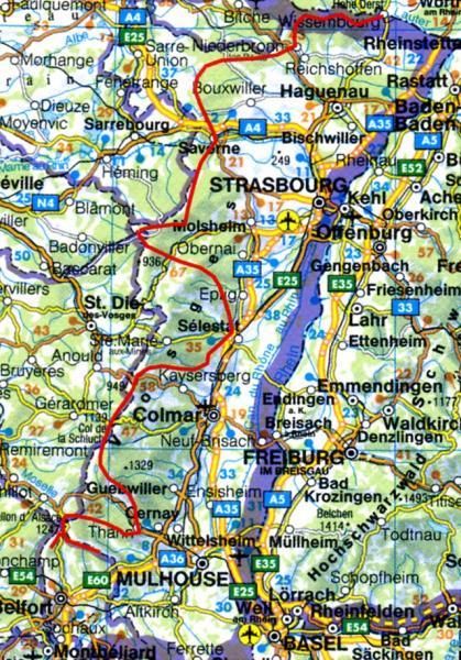 Rother wandelgids GR-5 | Vogesen-Durchquerung | Rother Wanderführer GR5 9783763344079 Thomas Striebig Bergverlag Rother RWG  Meerdaagse wandelroutes, Wandelgidsen Vogezen