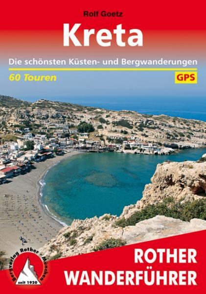 Rother wandelgids Kreta | Rother Wanderführer 9783763344420  Bergverlag Rother RWG  Wandelgidsen Kreta