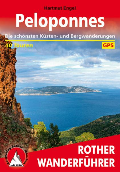 Peloponnes (Peloponnesos) | Rother Wanderführer (wandelgids) 9783763344468  Bergverlag Rother RWG  Wandelgidsen Peloponnesos