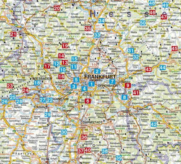 Rother wandelgids Rund um Frankfurt | Rother Wanderführer 9783763344680  Bergverlag Rother RWG  Wandelgidsen Frankfurt, Taunus, Rheingau