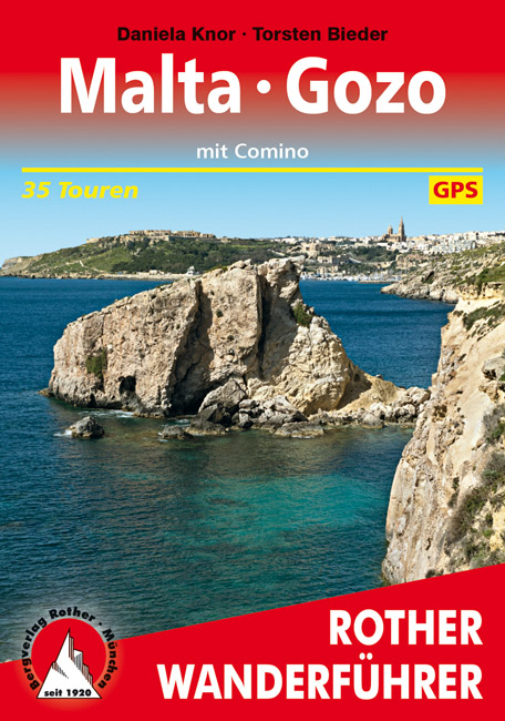 Malta, Gozo und Comino | Rother Wanderführer 9783763345168  Bergverlag Rother RWG  Wandelgidsen Malta