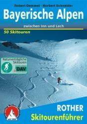 Rother Skiführer Bayerische Alpen 9783763359004  Bergverlag Rother Rother Skiführer  Wintersport Beierse Alpen