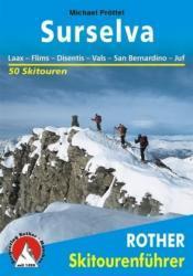 Surselva 9783763359219  Bergverlag Rother Rother Skiführer  Wintersport Graubünden, Tessin