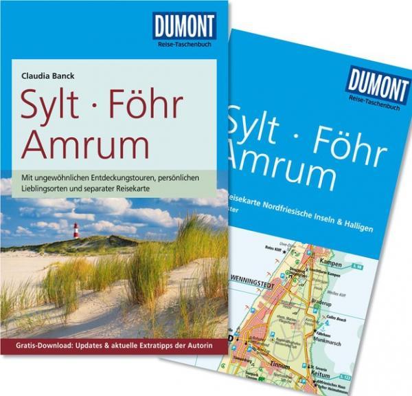Sylt, Föhr, Amrum | Reise-Taschenbuch 9783770173853  Dumont Reise-Taschenbücher  Reisgidsen Sleeswijk-Holstein
