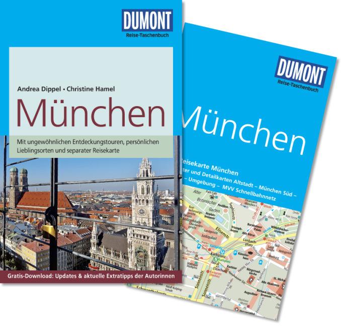 München | Reise-Taschenbuch 9783770174362  Dumont Reise-Taschenbücher  Reisgidsen München en omgeving