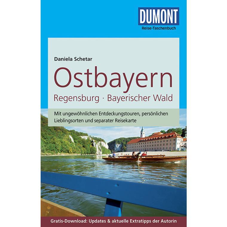 Ostbayern | Dumont Reise-Taschenbuch reisgids 9783770174386  Dumont Reise-Taschenbücher  Reisgidsen Beierse Woud, Regensburg, Passau
