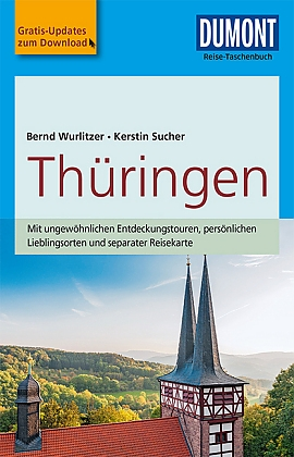 Thüringen | Reise-Taschenbuch 9783770175109  Dumont Reise-Taschenbücher  Reisgidsen Thüringen, Weimar, Rennsteig