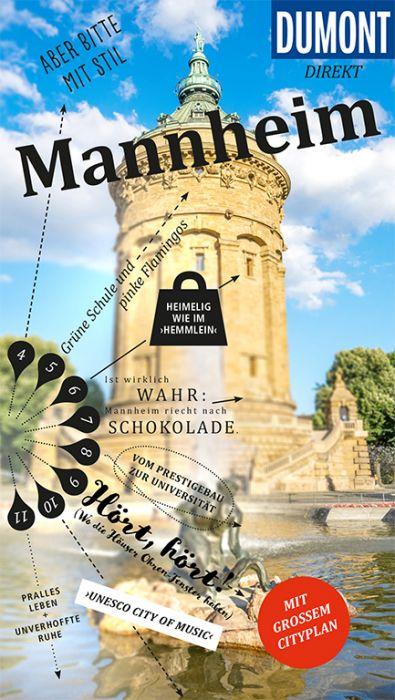 Mannheim 9783770183746  Dumont Dumont-Extra  Reisgidsen Heidelberg, Kraichgau, Stuttgart, Neckar