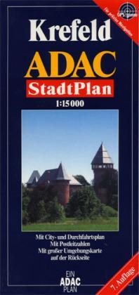 Krefeld 9783826402494  ADAC ADAC plattegronden  Stadsplattegronden Niederrhein