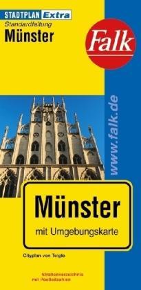 stadsplattegrond Münster 9783827924766  Falk Stadsplattegronden  Stadsplattegronden Münsterland, Bentheim
