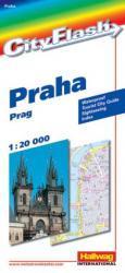 Praag / Praha 9783828300859  Hallwag City Flash  Stadsplattegronden Tsjechië
