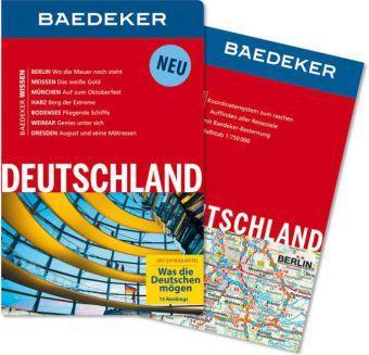 Baedeker: Deutschland 9783829714914  Baedeker   Reisgidsen Duitsland