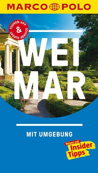 Marco Polo Weimar (Duitstalig) 9783829729345  Marco Polo (D) MP reisgidsjes  Reisgidsen Thüringen, Weimar, Rennsteig