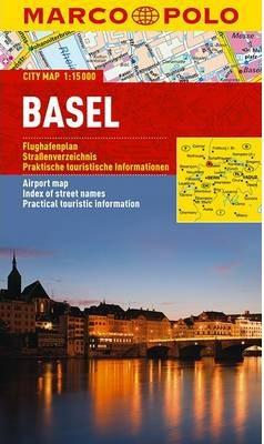 Basel 9783829730464  MairDumont Marco Polo Citymaps  Stadsplattegronden Berner Oberland, Basel, Jura, Genève