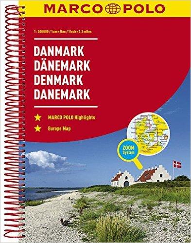 Denemarken 1/200.000 9783829736824  Marco Polo (D) Wegenatlassen  Wegenatlassen Denemarken