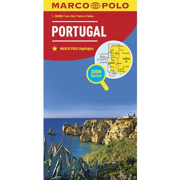 Portugal 1:300.000 9783829738392  Marco Polo (D) MP Wegenkaarten  Landkaarten en wegenkaarten Portugal