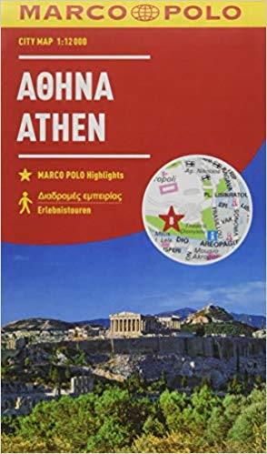 Marco Polo Stadsplattegrond Athene 1:12.000 9783829741514  Marco Polo   Stadsplattegronden Peloponnesos