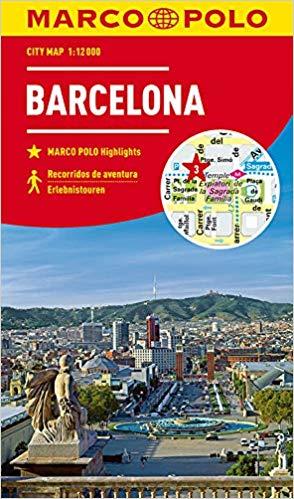 Marco Polo Stadsplattegrond Barcelona 1:12.000 9783829741538  Marco Polo   Stadsplattegronden Barcelona