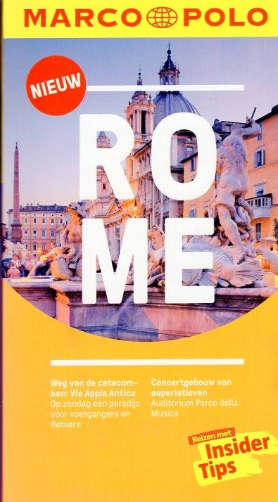 Marco Polo Rome 9783829756372  Marco Polo MP reisgidsjes  Reisgidsen Rome, Lazio