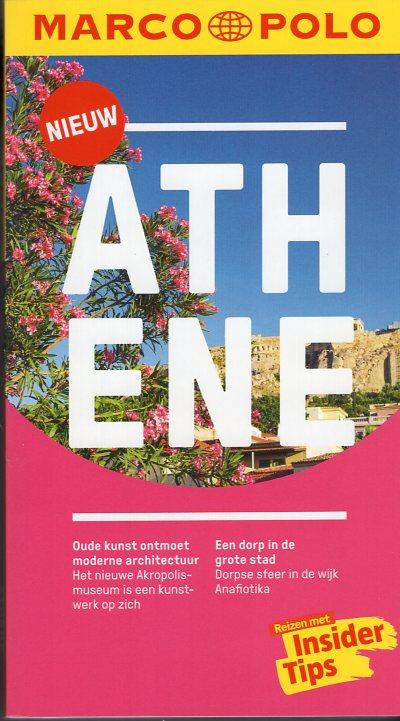 Marco Polo Athene 9783829758000  Marco Polo MP reisgidsjes  Reisgidsen Midden en Noord-Griekenland, Athene