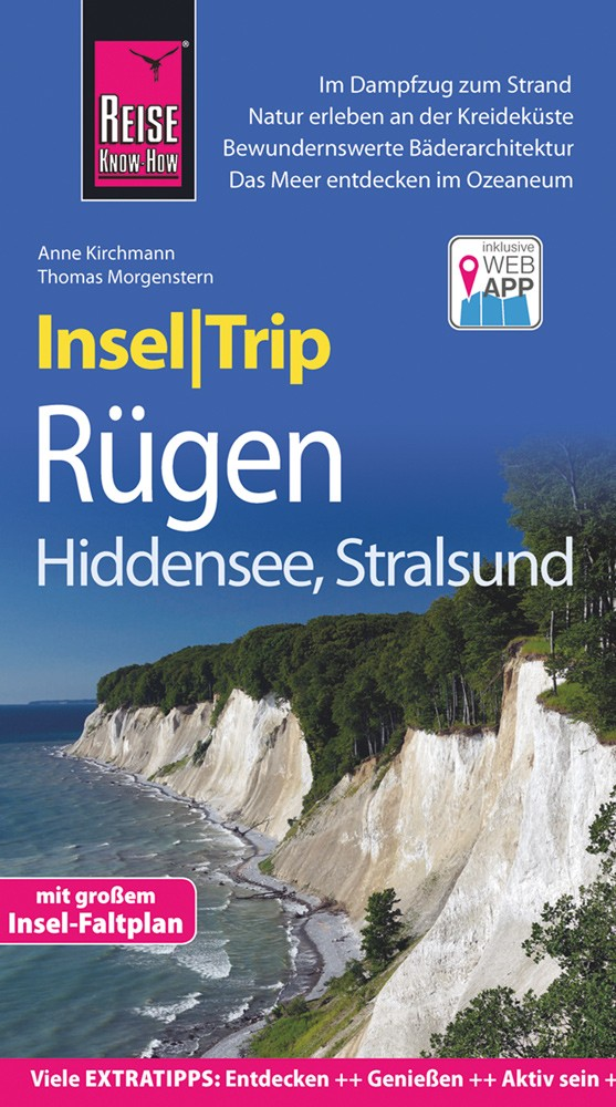 Reise Know-How InselTrip Rügen und Hiddensee, mit Stralsund 9783831727285  Reise Know-How   Reisgidsen Rügen
